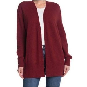 Madewell Cozy Long Walker Cardigan Size Small